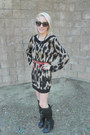 Alloy-boots-black-minkpink-dress-round-target-sunglasses