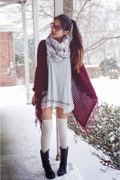 Madden Girl boots - Express scarf - 6ks cardigan