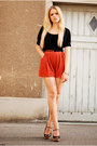 H-m-shirt-love-shorts-zara-wedges