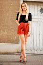 H-m-shirt-love-shorts-zara-wedges