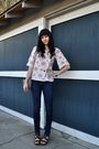 Brown-born-shoes-white-target-top-bdg-jeans-beige-thrifted-purse-silver-