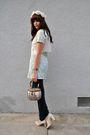 Beige-vintage-hat-green-vintage-dress-beige-vintage-vest-bdg-jeans-beige