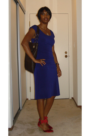 Victorias Secret dress - Nine West shoes - lanvin purse