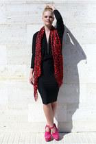 H&M scarf - Topshop wedges