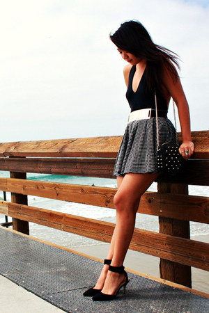 American Apparel top - crossings skirt