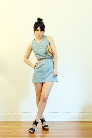 denim Out Of A Strobe Vintage dress