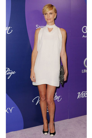 white Stella McCartney dress
