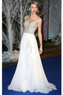 White-reem-acra-dress
