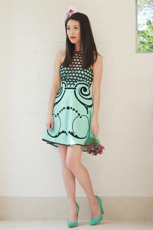 aquamarine alice mccall dress