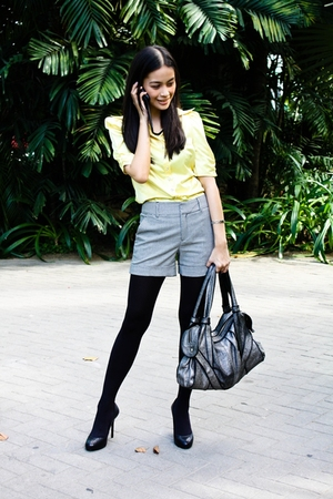 yellow Calliope blouse