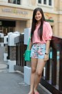 Aquamarine-satchel-bkk-bag-light-blue-floral-jean-greenhills-shorts