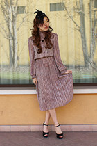 light purple Bikkuri dress - black Forever 21 heels