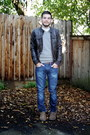 Tawny-toms-shoes-navy-levis-jeans-dark-brown-leather-h-m-jacket