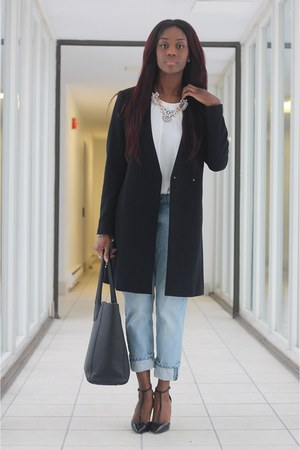 statement coat Zara coat - pointed toe Zara shoes