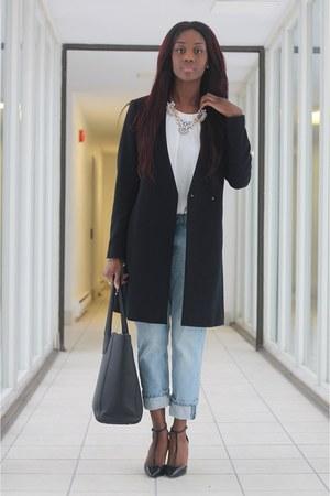 statement coat Zara coat - pointed toe Zara shoes