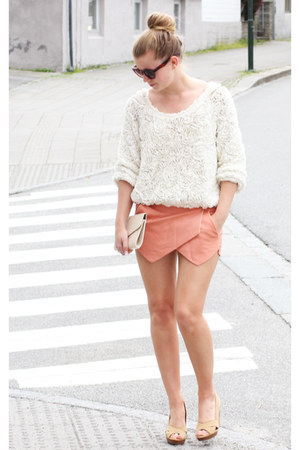 skort Sheinsidecom shorts - 3d mesh sweater American Apparel sweater