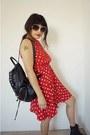 Polka-dots-vintage-dress