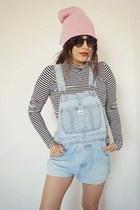 overalls vintage shorts