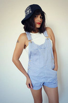 overalls vintage romper