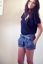 Splendid shirt - bcbg max azria shorts