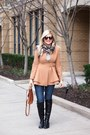 Browns-boots-h-m-jeans-oasap-jacket-forever-21-shirt-coach-bag