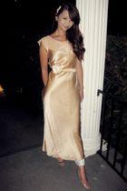 beige vintage no name dress