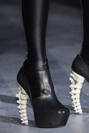 black DSquared shoes