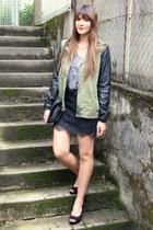Zara jacket - New Yorker skirt