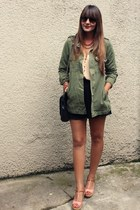 Zara jacket - Zara bag - Zara shorts