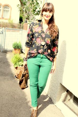 Zara jeans - Pimkie bag - H&M blouse