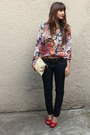 Sheinside-blouse-new-yorker-pants