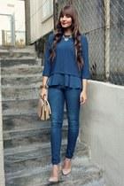 H&M jeans - Zara shirt