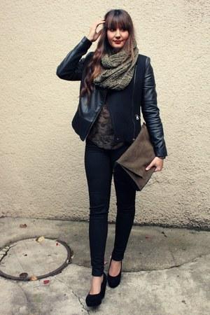 Zara jacket - New Yorker scarf - Zara blouse