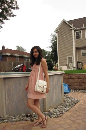 forever 21 dress - H&M purse - ecote shoes
