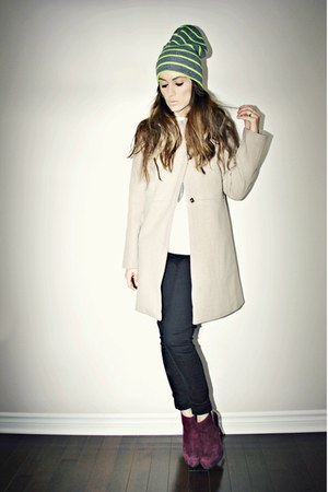 beige Sheinside coat