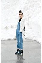 white ethnic knit Ardene cardigan