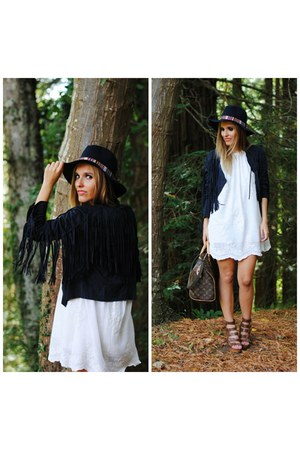 Sheinside jacket - Fiorella hat