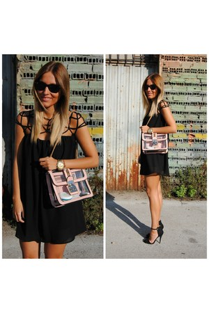 KEEP CALM TRENDY bag - Choies dress