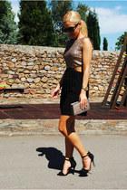 AX Paris dress - Zara shoes - Stradivarius bag - Ray Ban sunglasses