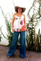 Charlotte Russe top - Bershka jeans - Dolce Vita sandals