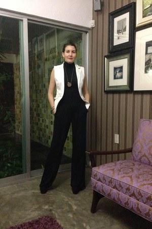 unknown brand vest - Mossimo pants - Zara blouse