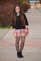 BLANCO skirt - Zara boots - tintoretto sweater