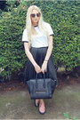 Celine-bag-whistles-sneakers-whistles-skirt-urban-outfitters-t-shirt