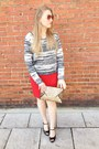 White-h-m-divided-sweater-camel-clutch-bcbg-max-azria-bag