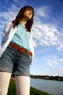Blue-old-navy-shirt-white-gap-cardigan-brown-gap-belt-blue-gapkids-shorts-