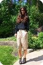 Black-jnby-top-beige-falls-pants-black-cynthia-vincent-for-target-shoes