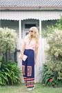 Ray-ban-sunglasses-vintage-blouse-ann-demeulemeester-heels