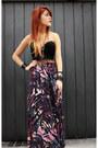 Black-vjstyle-boots-deep-purple-dag-skirt