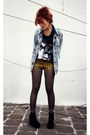 Sky-blue-vintage-jacket-tawny-dag-shorts-gray-random-socks-black-atmd-t-sh