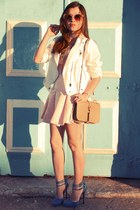 dress - jacket - bag - sunglasses - pumps